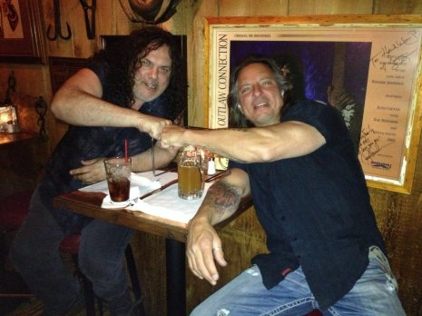 Michael with Gary Bruzzese